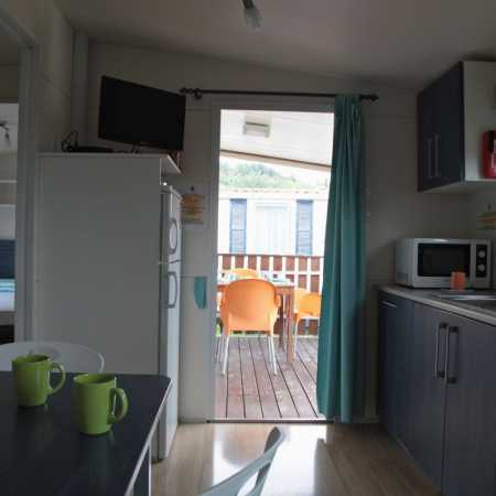 Camping Lake Garda with mobile home for holidays with dog